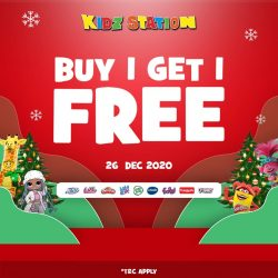 KIDZ STATION ONE DAY SPECIAL OFFER! BUY 1 GET 1 FREE