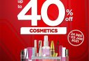 WATSONS Weekend Special (WES) – Discount up to 40%
