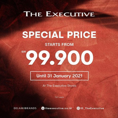 The Executive Promo Special Price Start From Rp 99.000*