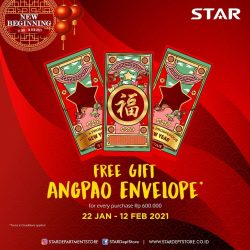 STAR DEPARTMENT STORE Promo Free Gift Angpao Envelope!