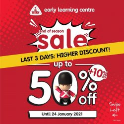 ELC INDONESIA Promo LAST 3 DAYS! End of Season Sale up to 50% off