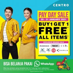 CENTRO dan PARKSON DEPARTMENT STORE Promo PAYDAY SALE