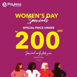 Promo Payless Shoesource Women's Day Specials! Harga Spesial di bawah Rp 200,000/